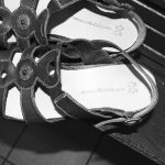 Neue Decksohle in Sandale