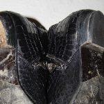 Schuhe mit kaputten Absätzen